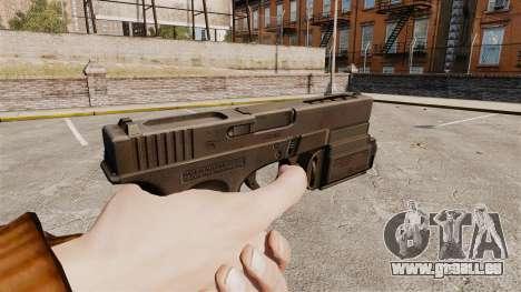 Tactique pistolet Glock 18 v1 pour GTA 4 secondes d'écran