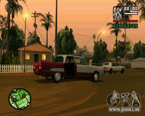 Oceanic HD für GTA San Andreas Innenansicht