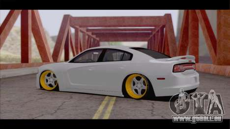 Dodge Charger SRT8 pour GTA San Andreas sur la vue arrière gauche