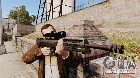 Le DSR-1 sniper rifle pour GTA 4 troisième écran