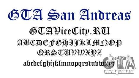 La police officielle pour GTA San Andreas pour GTA San Andreas