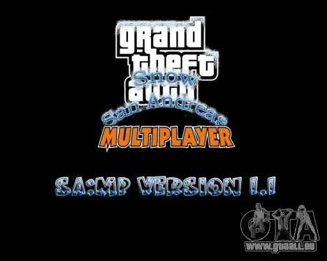 Snow San Andreas 2011 HQ - SA:MP 1.1 für GTA San Andreas