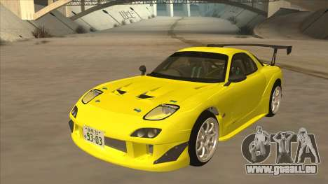 Mazda RX7 FD3S RE Amemyia Touge Style pour GTA San Andreas