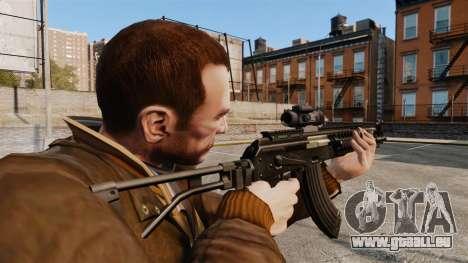 Kalachnikov AK-47 Sopmod pour GTA 4 secondes d'écran