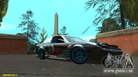 Nissan Silvia RPS13 CIAY pour GTA San Andreas