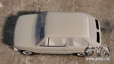Fiat 126 v1.1 für GTA 4 rechte Ansicht