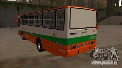 Tacurong Express 368 für GTA San Andreas Rückansicht