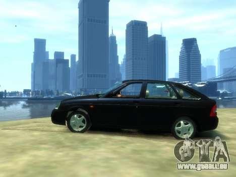 Lada Priora für GTA 4 linke Ansicht