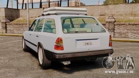 Mercedes-Benz W124 Wagon (S124) pour GTA 4 Vue arrière de la gauche