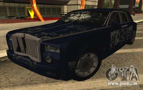 Rolls-Royce Phantom für GTA San Andreas Innen
