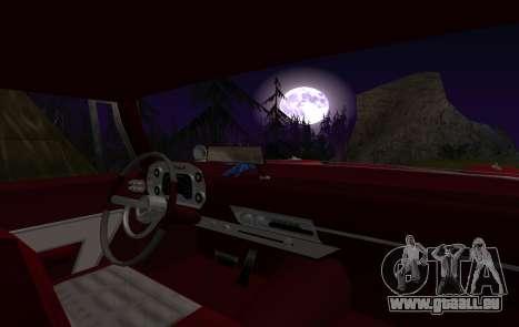 Plymouth Fury für GTA San Andreas Innenansicht