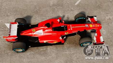 Ferrari F138 2013 v1 für GTA 4 rechte Ansicht
