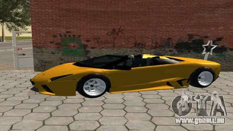 Lamborghini Reventon Shakotan für GTA San Andreas linke Ansicht