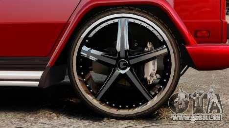 Mercedes-Benz G500 für GTA 4 rechte Ansicht