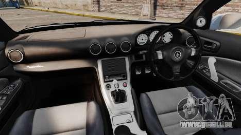 Nissan Silvia S15 v4 für GTA 4 Rückansicht