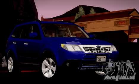 Subaru Forester XT 2008 v2.0 pour GTA San Andreas vue de côté