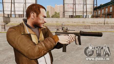 Taktische MP9 Maschinenpistole v1 für GTA 4