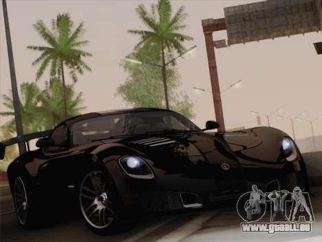 Devon GTX 2010 für GTA San Andreas zurück linke Ansicht