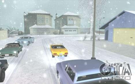 Snow San Andreas 2011 HQ - SA:MP 1.1 für GTA San Andreas her Screenshot