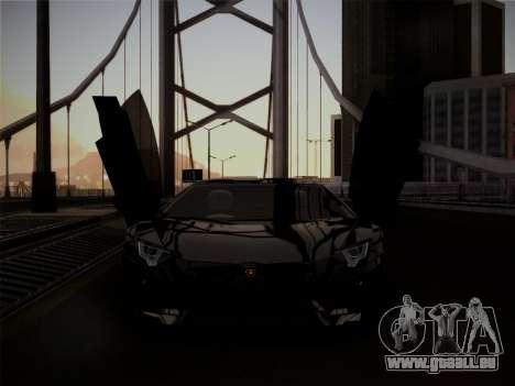 Lamborghini Aventador LP760-2 pour GTA San Andreas laissé vue