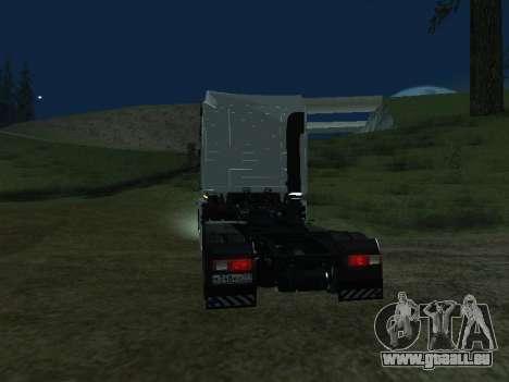 Renault Magnum pour GTA San Andreas sur la vue arrière gauche