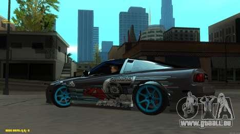 Nissan Silvia RPS13 CIAY pour GTA San Andreas vue arrière