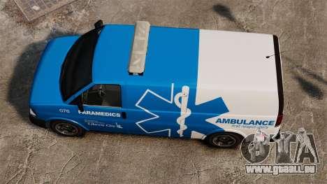 Speedo LCEMS Ambulanz für GTA 4 rechte Ansicht