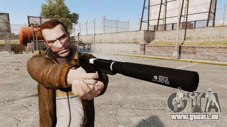 Chargement automatique v1 de pistolet Glock 17 pour GTA 4 troisième écran