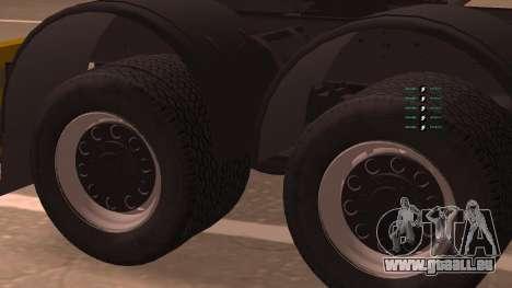 KAMAZ 260 Turbo für GTA San Andreas zurück linke Ansicht