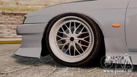 Nissan Silvia S14 für GTA 4 Rückansicht