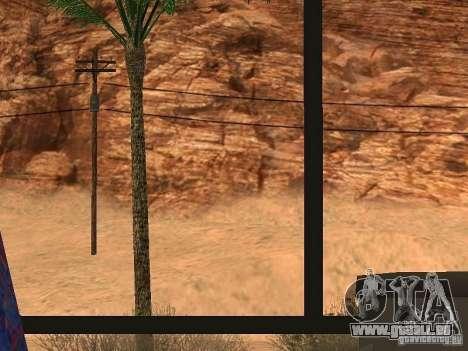 Conduire une 3.0 pour GTA San Andreas quatrième écran