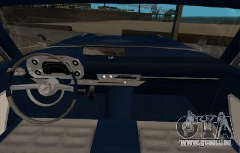 Plymouth Fury pour GTA San Andreas laissé vue