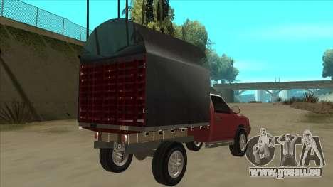 Chevrolet Luv 2.500 diesel pour GTA San Andreas vue de droite