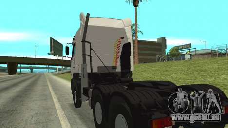 MAZ 5440 pour GTA San Andreas vue intérieure