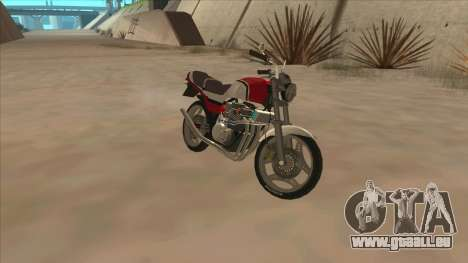 Honda CBX400F pour GTA San Andreas