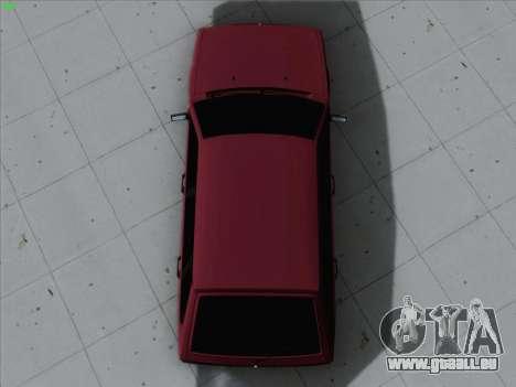 VAZ 21093i für GTA San Andreas Rückansicht