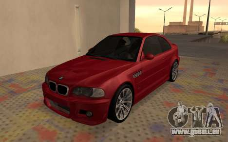 BMW M3 E46 2005 Body Damage für GTA San Andreas