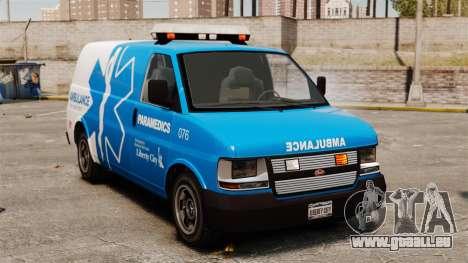 Speedo LCEMS Ambulanz für GTA 4