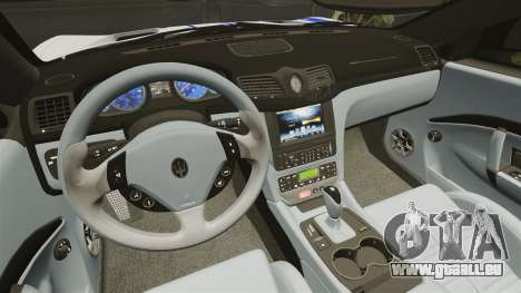 Maserati MC Stradale Infinite Stratos für GTA 4 Innenansicht