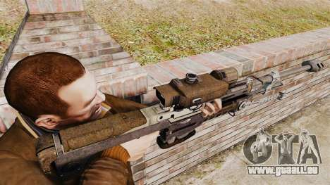 Fusil sniper de Halo Reach SRS 99 pour GTA 4 secondes d'écran