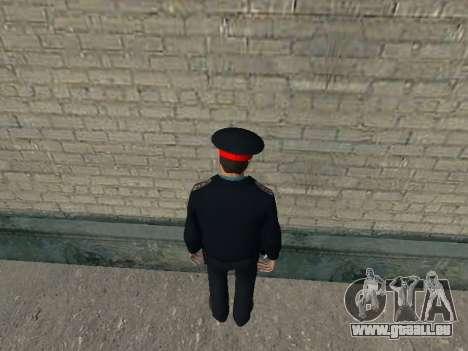 Le commandant de bord du ministère russe de l'in pour GTA San Andreas deuxième écran