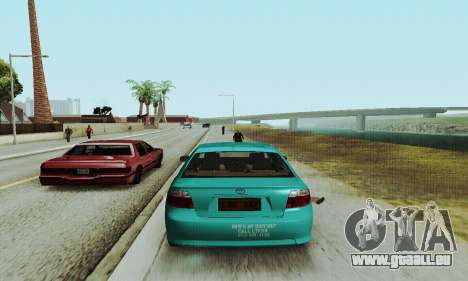 Toyota Corolla City Mastercab pour GTA San Andreas vue de droite