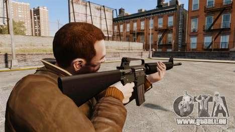 M16 A2 pour GTA 4 secondes d'écran