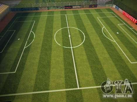 Terrain de soccer pour GTA San Andreas troisième écran