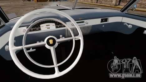 Cadillac Series 62 convertible 1949 [EPM] v4 für GTA 4 Rückansicht