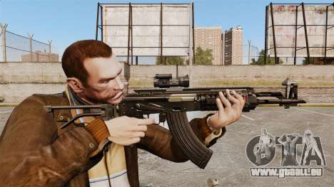 Kalachnikov AK-47 Sopmod pour GTA 4