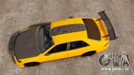 Lexus IS 300 pour GTA 4 est un droit