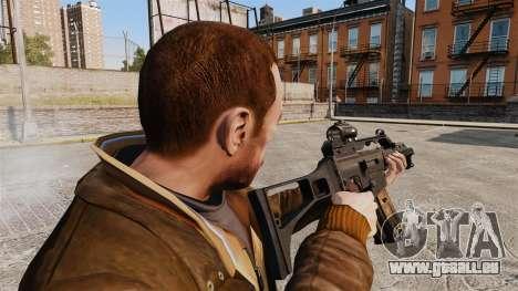 HK G36c pour GTA 4 secondes d'écran