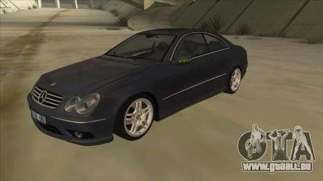 Mercedes-Benz CLK55 AMG 2003 pour GTA San Andreas
