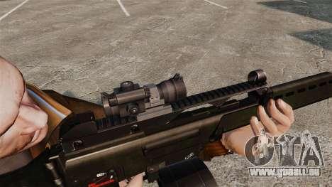 Fusil d'assaut H & K MG36 v3 pour GTA 4 quatrième écran